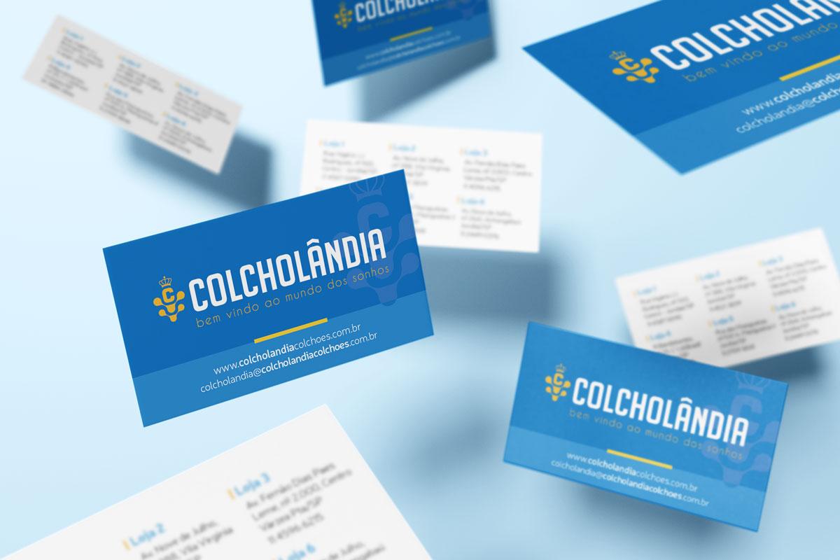 Agência de publicidade e propaganda Leomhann cartão colcholândia