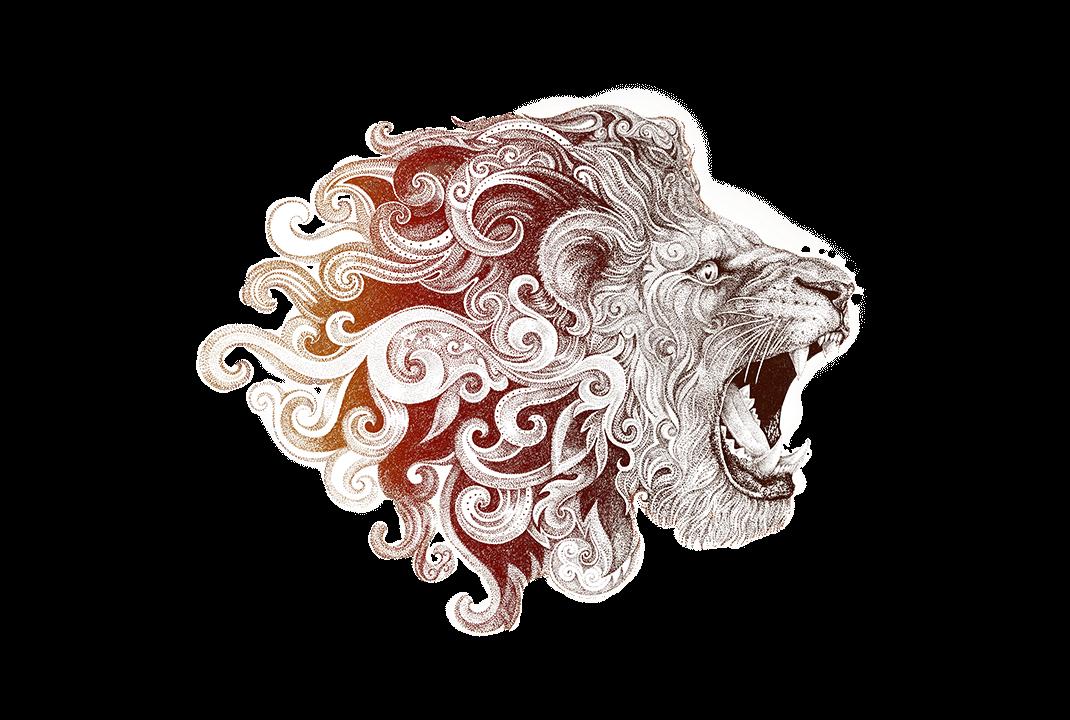 Leão tribal agência leomhann publicidade