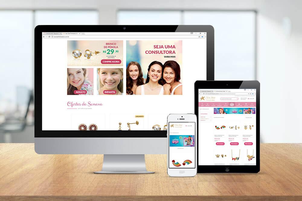 Agencia de publicidade e propaganda Leomhann site new star